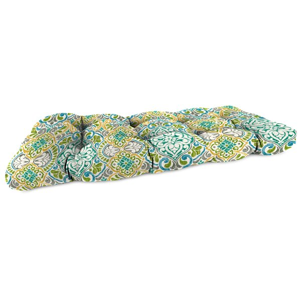Indoor/Outdoor Bench Cushion By Bungalow Rose