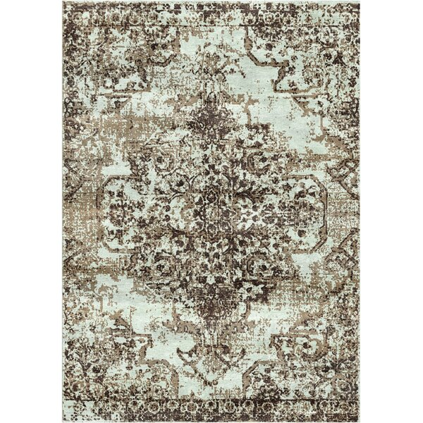 Aliza Handloom Charcoal Area Rug by Bungalow Rose