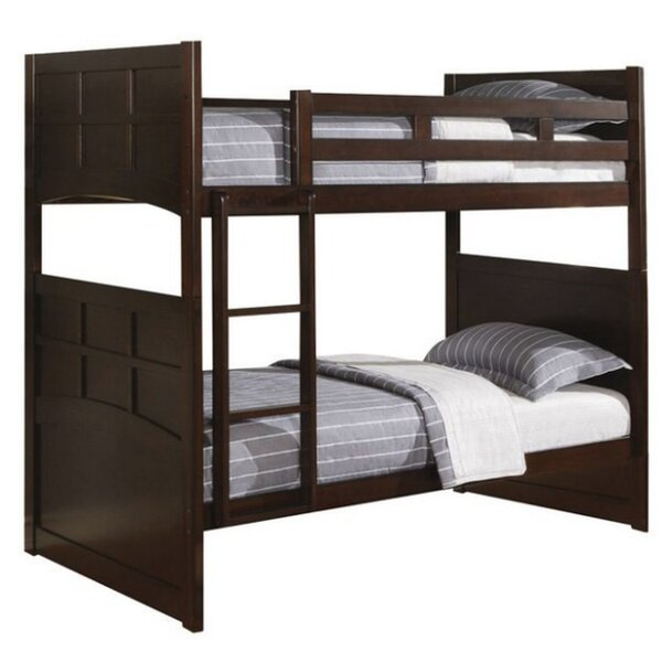 Berna Twin over Twin Bunk Bed with Underbed Storage by Harriet Bee