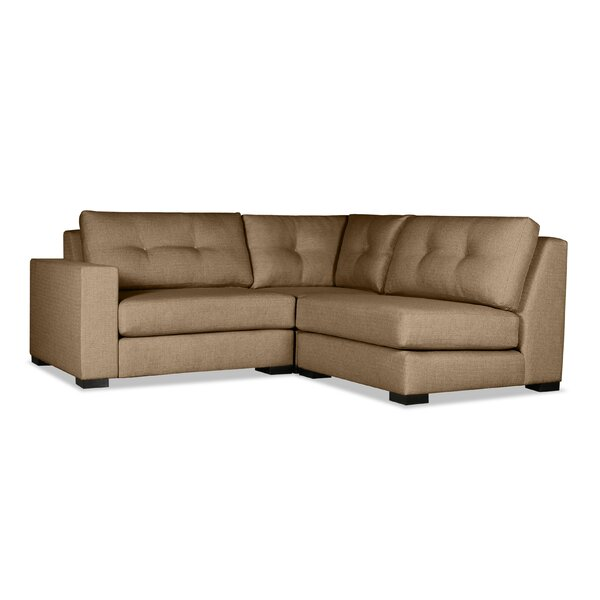Brose Deep Modular Sectional By Brayden Studio