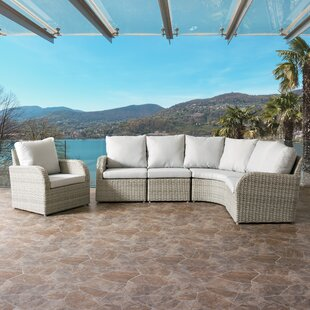 Killingworth 5 Piece Sectional Set with Cushions ByRosecliff Heights