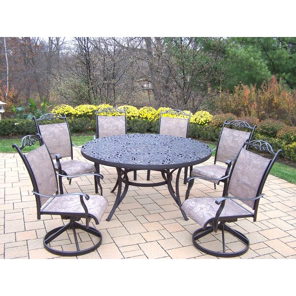 Mcgrady 7 Piece Sling Dining Set by Astoria Grand