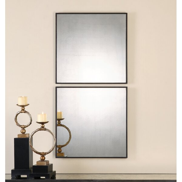 2 Piece Matty Mirror Set (Set of 2) by Uttermost