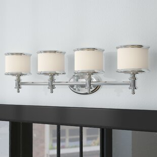 Read Reviews Midvale 4-Light Vanity Light By Andover Mills