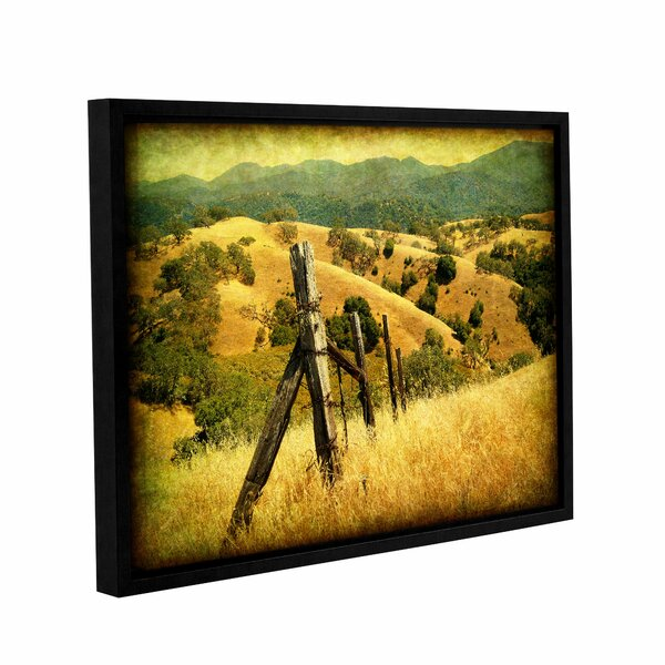 Weathered Ranch Fence Framed Photographic Print by Loon Peak