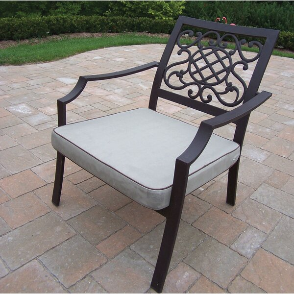 Patio Chair with Cushion (Set of 4) by Oakland Living