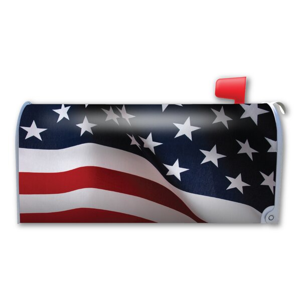 American Flag Magnetic Mailbox Cover by Magnet America