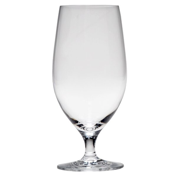 Valore 17 oz. Crystal Every Day Glass (Set of 6) by D&V