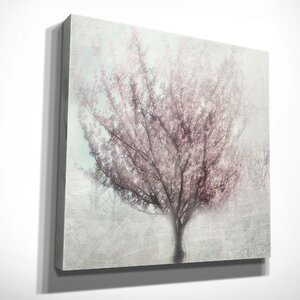 'Blossoming of Spring I' by Irene Weisz Painting Print on Wrapped Canvas by Wexford Home