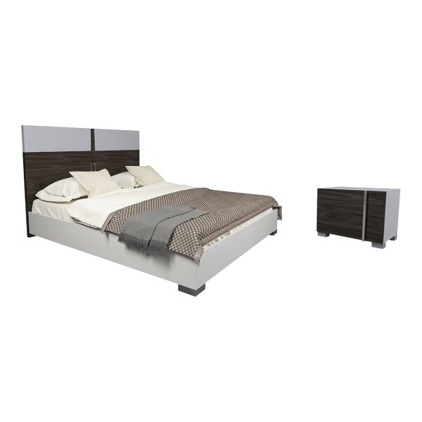 Cora King Platform Configurable Bedroom Set by Orren Ellis