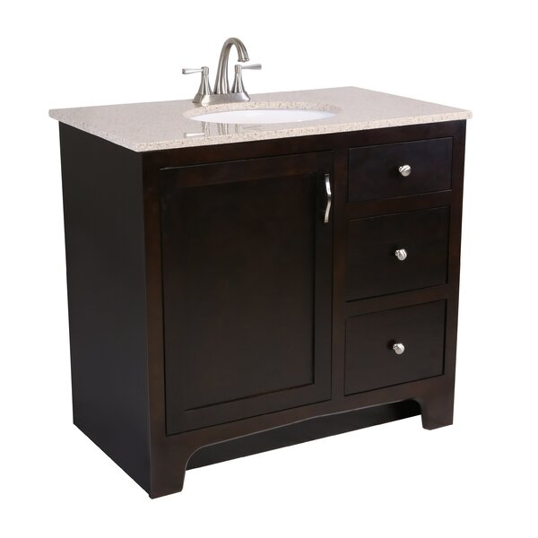 Steubenville 1-Door 37 Single Bathroom Vanity by Andover Mills