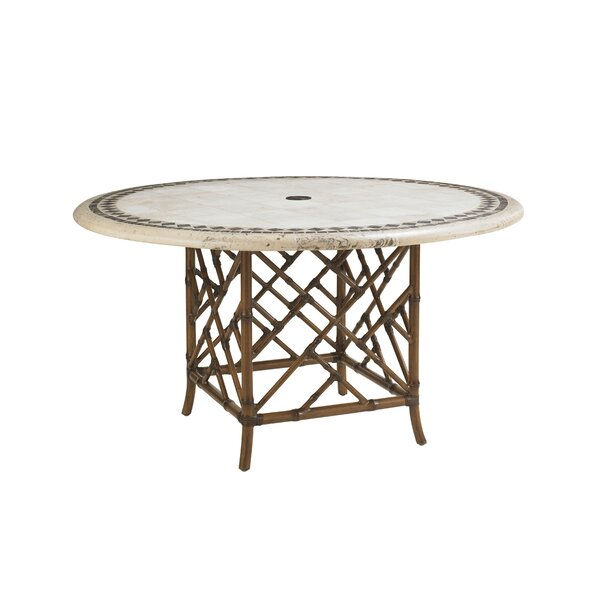Island Estate Veranda Stone/Concrete Dining Table