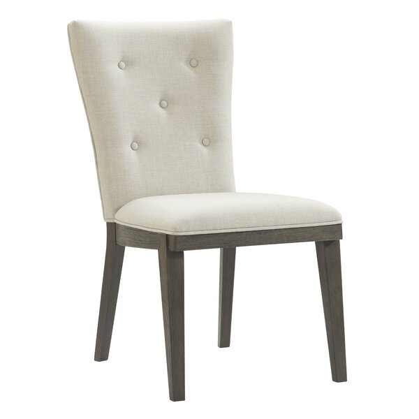 Joanna Upholstered Dining Chair (Set of 2) by Gracie Oaks Gracie Oaks