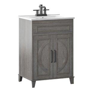 Pine Bathroom Vanity Wayfair