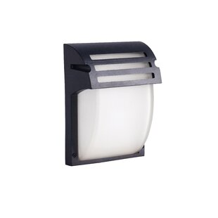 Read Reviews Barlow LED Outdoor Flush Mount By Ebern Designs
