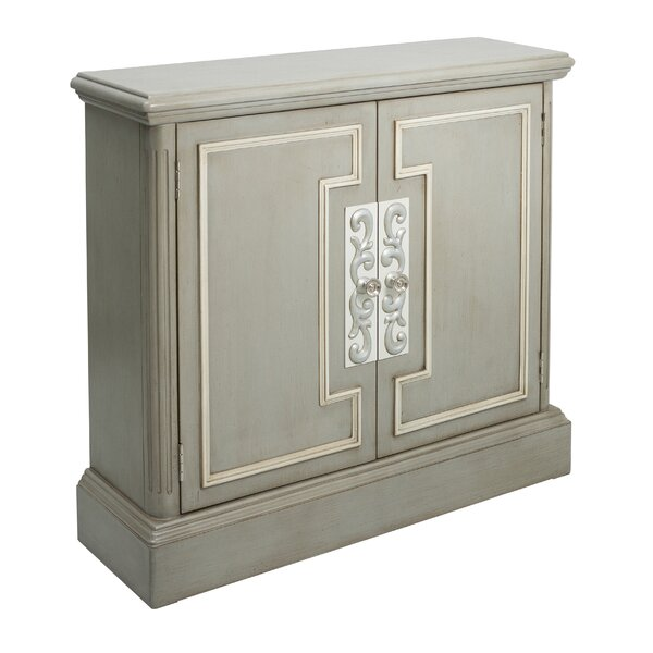 Mallory Overlay 2 Door Accent Cabinet by One Allium Way