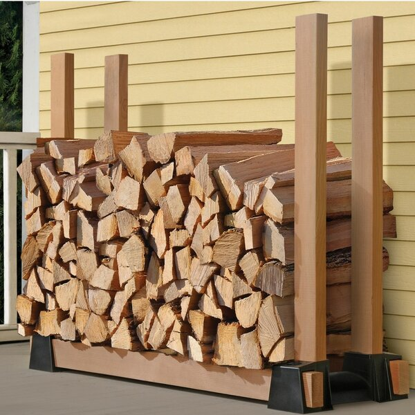 Home & Outdoor Firewood Rack Bracket Kit