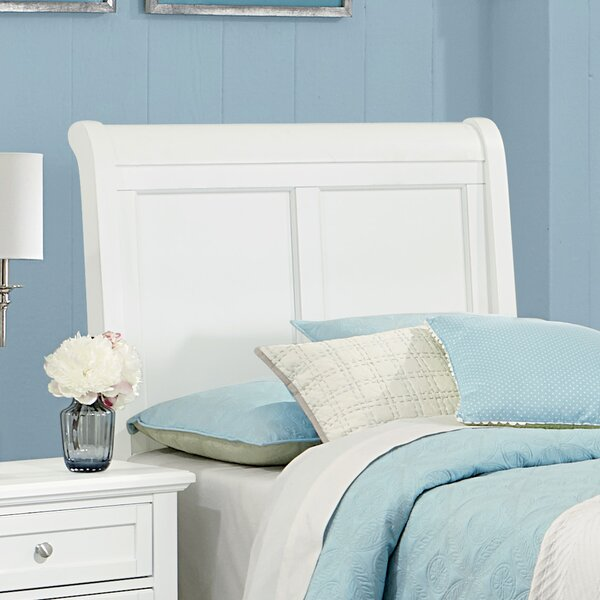 Gastelum Wood Sleigh Headboard by Darby Home Co