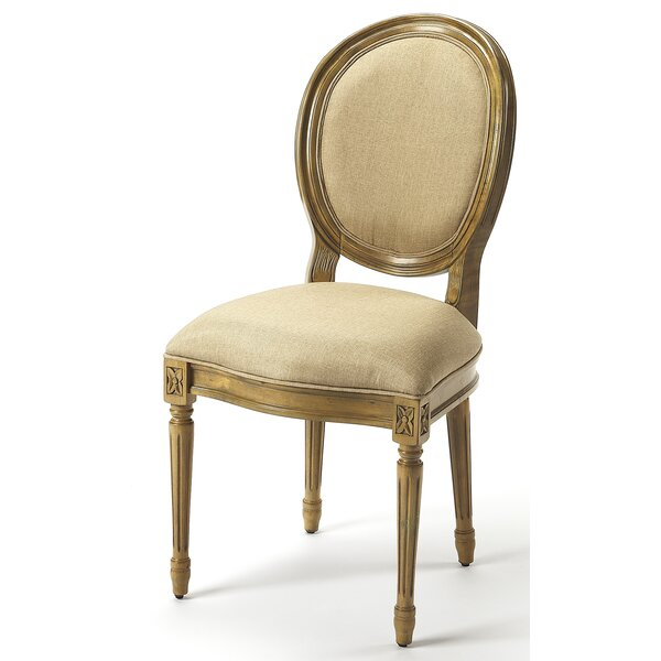 Derick Upholstered Dining Chair by One Allium Way