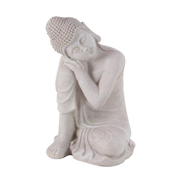 Rabat Contemporary Sitting Buddha Resin Figurine by World Menagerie