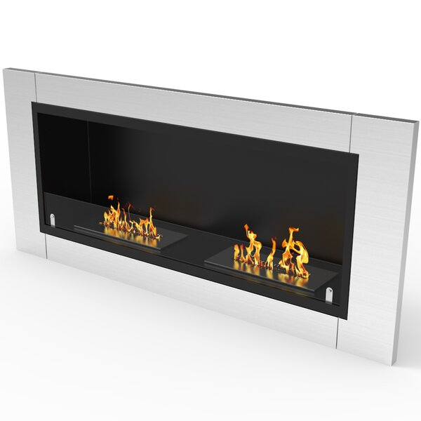 Sheehan Ventless Recessed Bio-Ethanol Fireplace Insert By Orren Ellis
