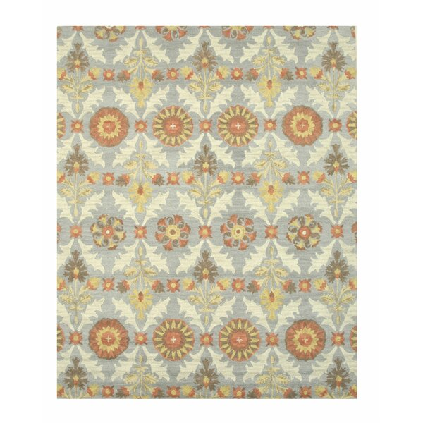 Marcel Hand-Tufted Blue Area Rug by Eastern Rugs