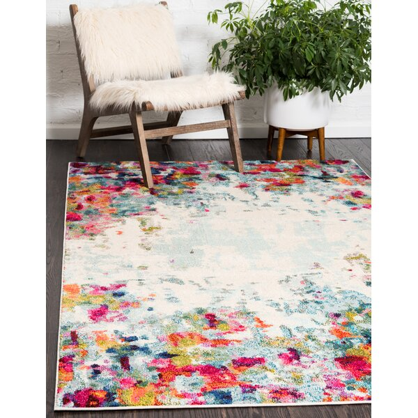 Chenango Rectangle Cream Area Rug by Zipcode Design