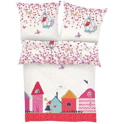 Renforcé-Kinderbettwäsche Schloss | Kinderzimmer > Textilien für Kinder > Kinderbettwäsche | Baumwolle | s.Oliver