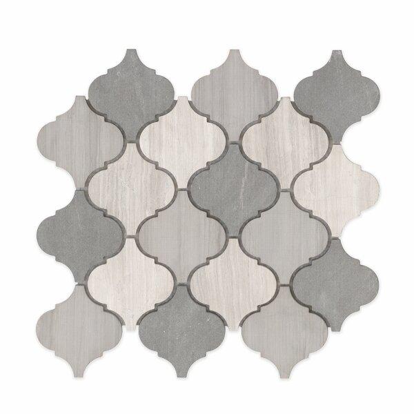 Villa Paz Stone Mosaic Tile in Moreno by Grayson Martin