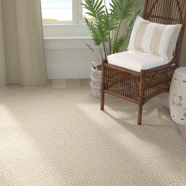 Blocher Natural Area Rug by Highland Dunes