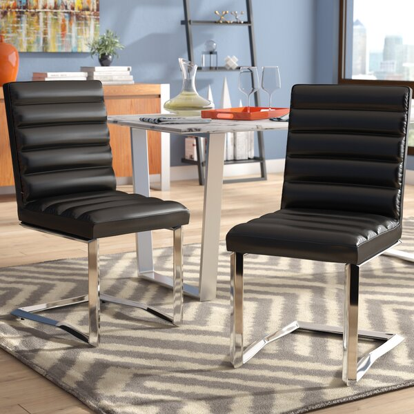 Destan Contemporary Side Chair (Set of 2) by Orren Ellis