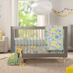 Read Reviews Tulip Garden 5 Piece Crib Bedding Set Bybabyletto