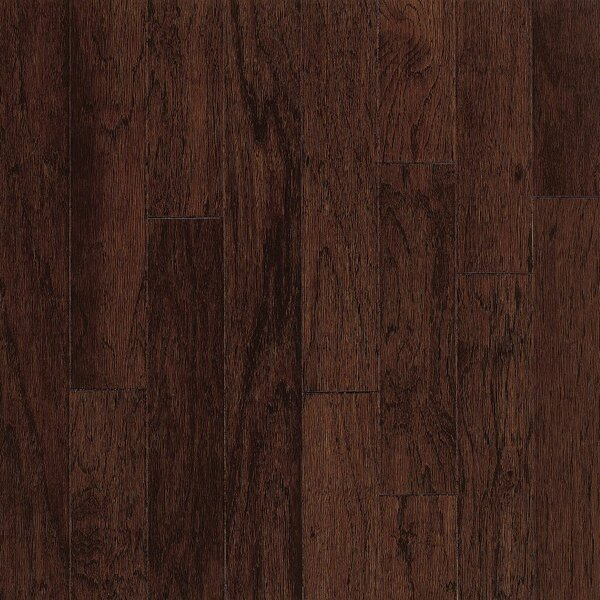 Turlington 5 Engineered Hickory Hardwood Flooring in Molasses by Bruce Flooring