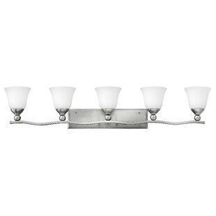 Reviews Bolla 5-Light Vanity Light By Hinkley Lighting