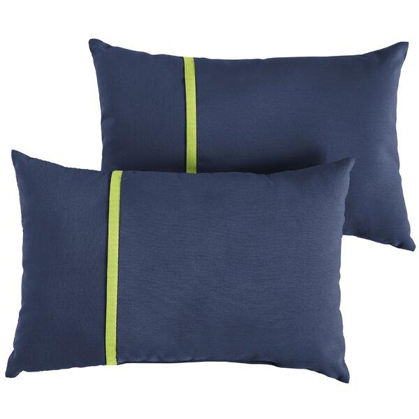Duneane Indoor/Outdoor Lumbar Pillow (Set of 2) by Brayden Studio