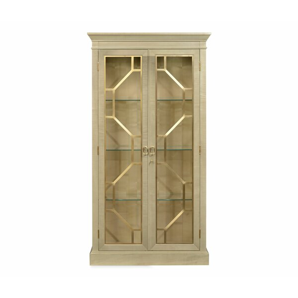 Opera Two-Door Lighted Curio Cabinet by Jonathan Charles Fine Furniture