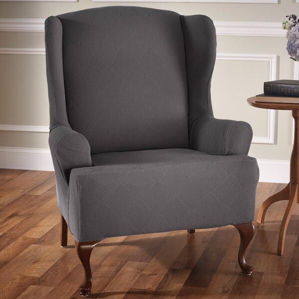 Home & Garden T-Cushion Wingback Slipcover
