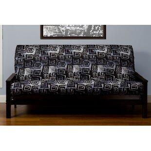 Archambault Zipper Box Cushion Futon Slipcover