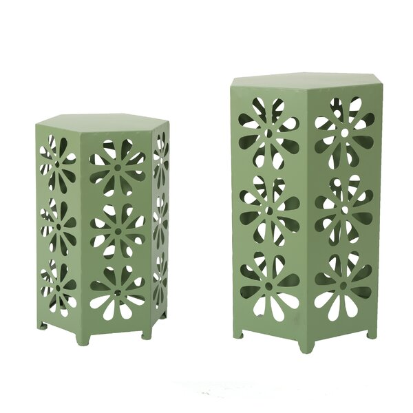 Molnar 2 Piece End Table Set by Ebern Designs
