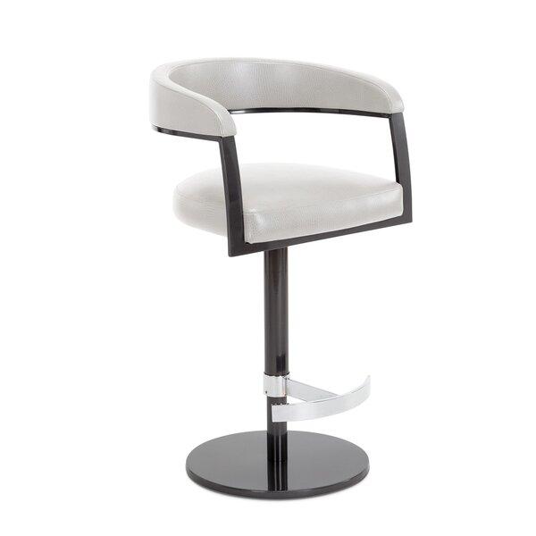 Helix Adjustable Swivel Bar Stool by Elite Modern