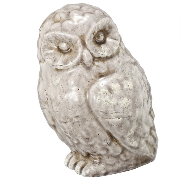 Veda Owl Statue by Lark Manor