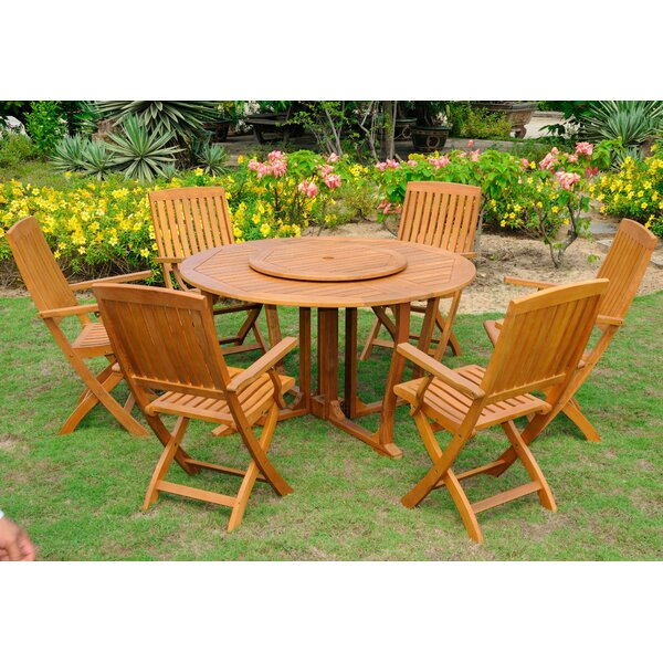 Sabbattus 8 Piece Dining Set by Breakwater Bay
