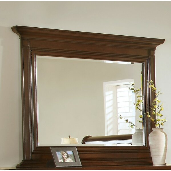 Bayliss Crowned Top Dresser Mirror by Wildon Home ®