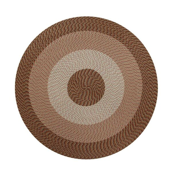 Braided Stripe Taupe/Beige Area Rug by Better Trends