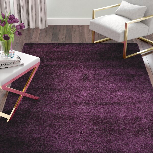 Malina Purple Area Rug by Willa Arlo Interiors