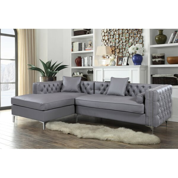 Valuable Quality Sayali Contemporary Sectional by Willa Arlo Interiors by Willa Arlo Interiors