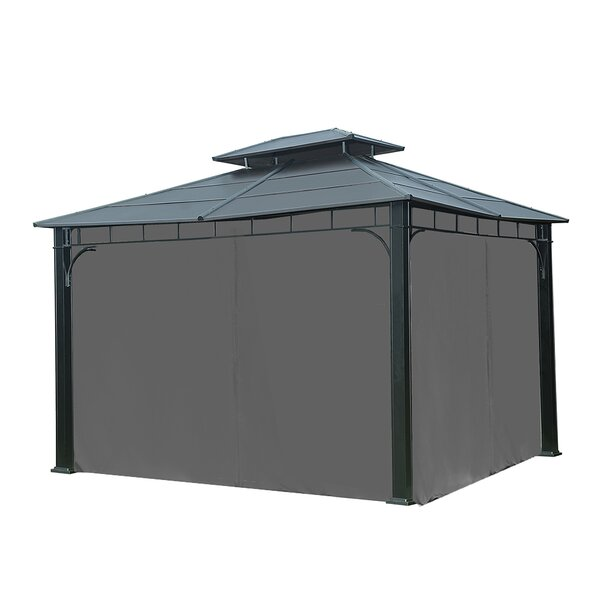 Universal Curtain for 10 Ft x 12 Ft Gazebo by Sunjoy
