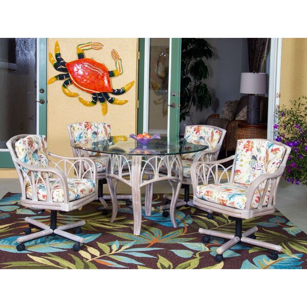 Presley 5 Piece Dining Set by Bay Isle Home