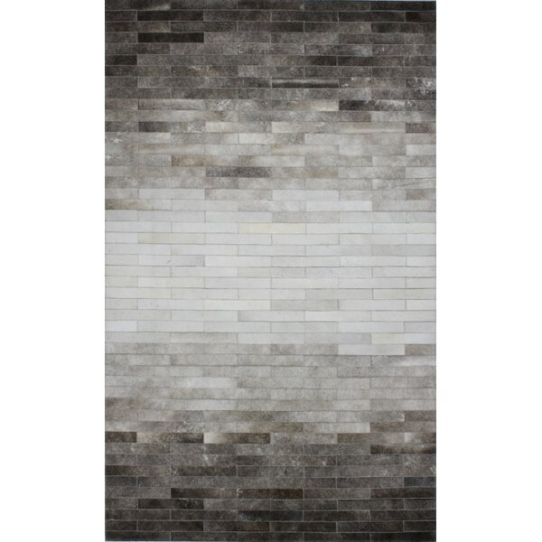 Dahill Hand-Woven Gray Area Rug by 17 Stories
