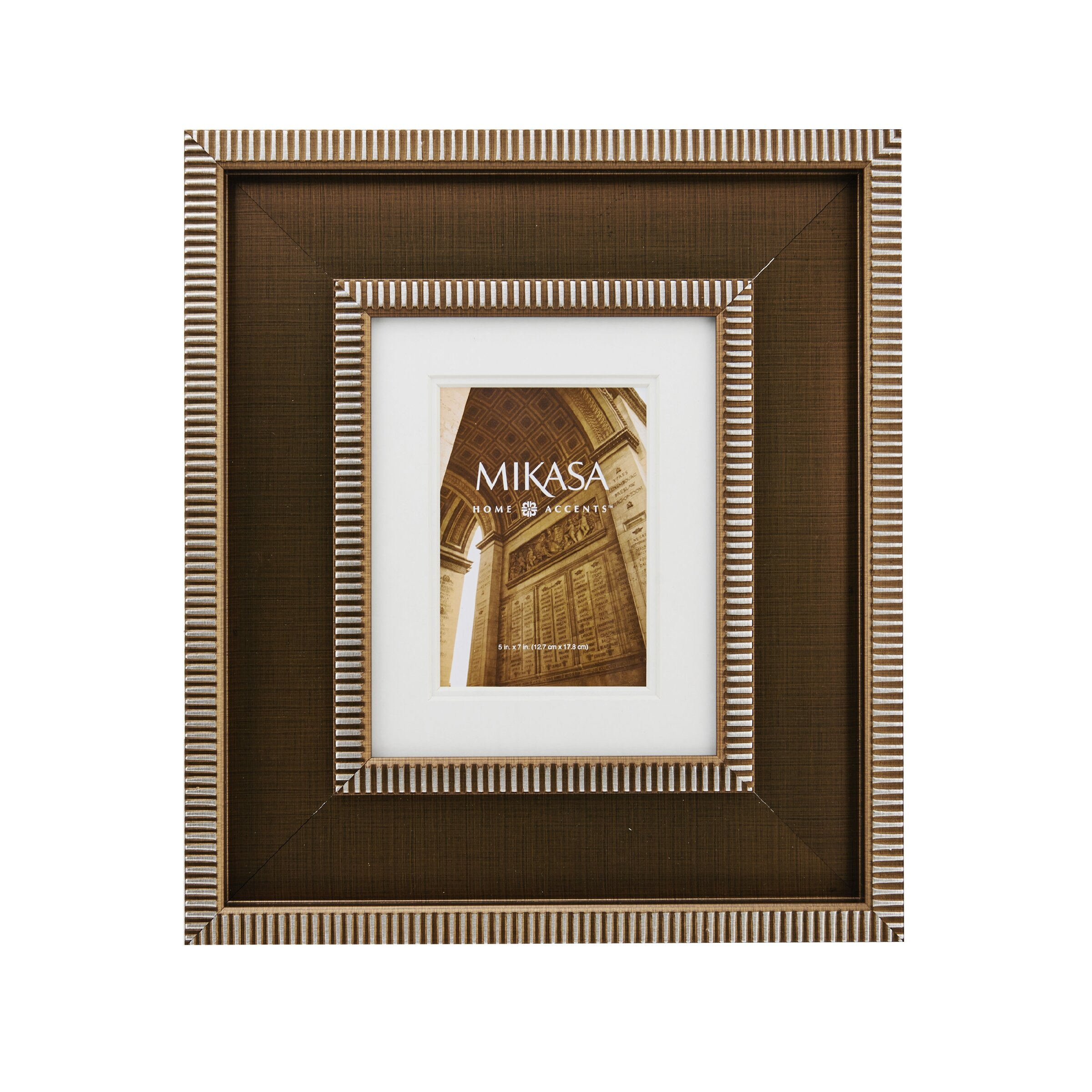 Mikasa Striped Border Picture Frame Wayfair
